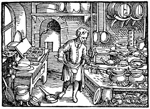 A szigligeti vár rekonstruált konyhája